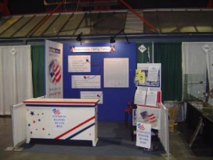 Democratic Party's State Fair booth 2005
